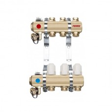 Distribuitor/colector-repartitor tip RZ03S calorifere 3 cai
