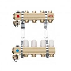 Distribuitor/colector-repartitor tip RZ04S calorifere 4 cai