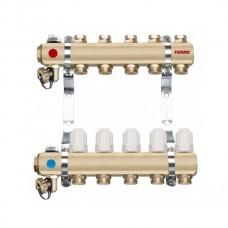 Distribuitor/colector-repartitor tip RZ05S calorifere 5 cai