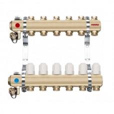 Distribuitor/colector-repartitor tip RZ06S calorifere 6 cai