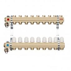 Distribuitor/colector-repartitor tip RZ09S calorifere 9 cai