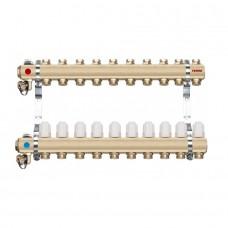 Distribuitor/colector-repartitor tip RZ10S calorifere 10 cai