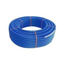 Teava PEX Ivar pentru calorifere 16x2.0 cu protectie albastra 50 m/colac