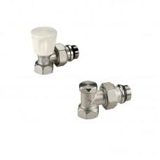 Set robineti Giacomini 1/2 cu garnitura autoetansare tur-retur