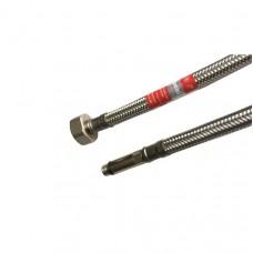 Racord flexibil monocomanda pentru baterie Tucai 1/2 30cm tija lunga