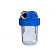 Carcasa filtru transparent 5' racord 1/2'