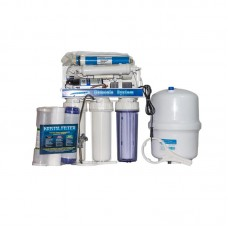 Sistem filtrare Aquatehnica, cu Osmoza inversa, 200 l/h, include pompa si rezervor