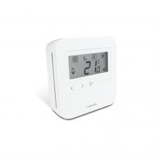 Termostat neprogramabil Salus HTRS230, afisaj LCD, cu butoane tactile, pentru incalzire in pardoseala