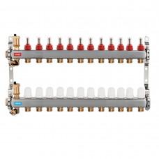 Distribuitor/colector-repartitor inox SN-RZPU12S pardoseala 12 cai