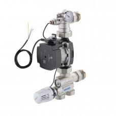 Grup pompare si amestec Emmeti pentru incalzire in pardoseala cu pompa Grundfos UMP3 Hibrid