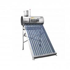 Panou solar Ferroli EcoSole 12 FRL-TF12, cu boiler 120 L, pentru incalzire apa, nepresurizat