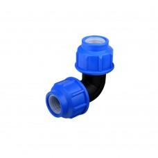 Cot compresiune PEHD, D 20 mm, 90 grade
